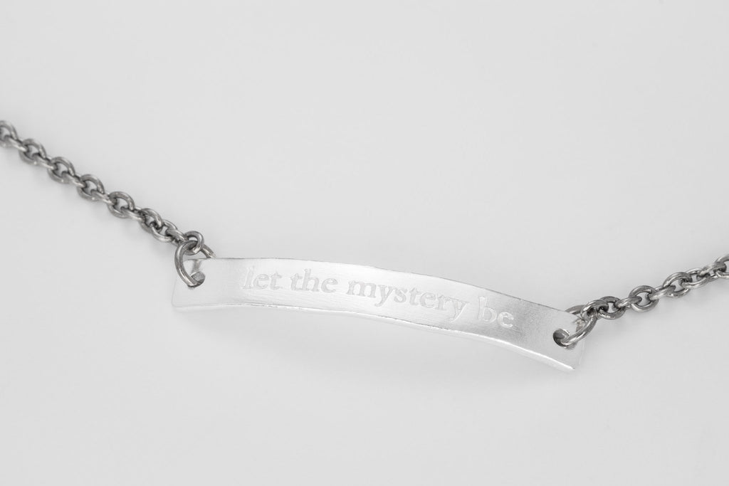 Let the mystery be Bracelet
