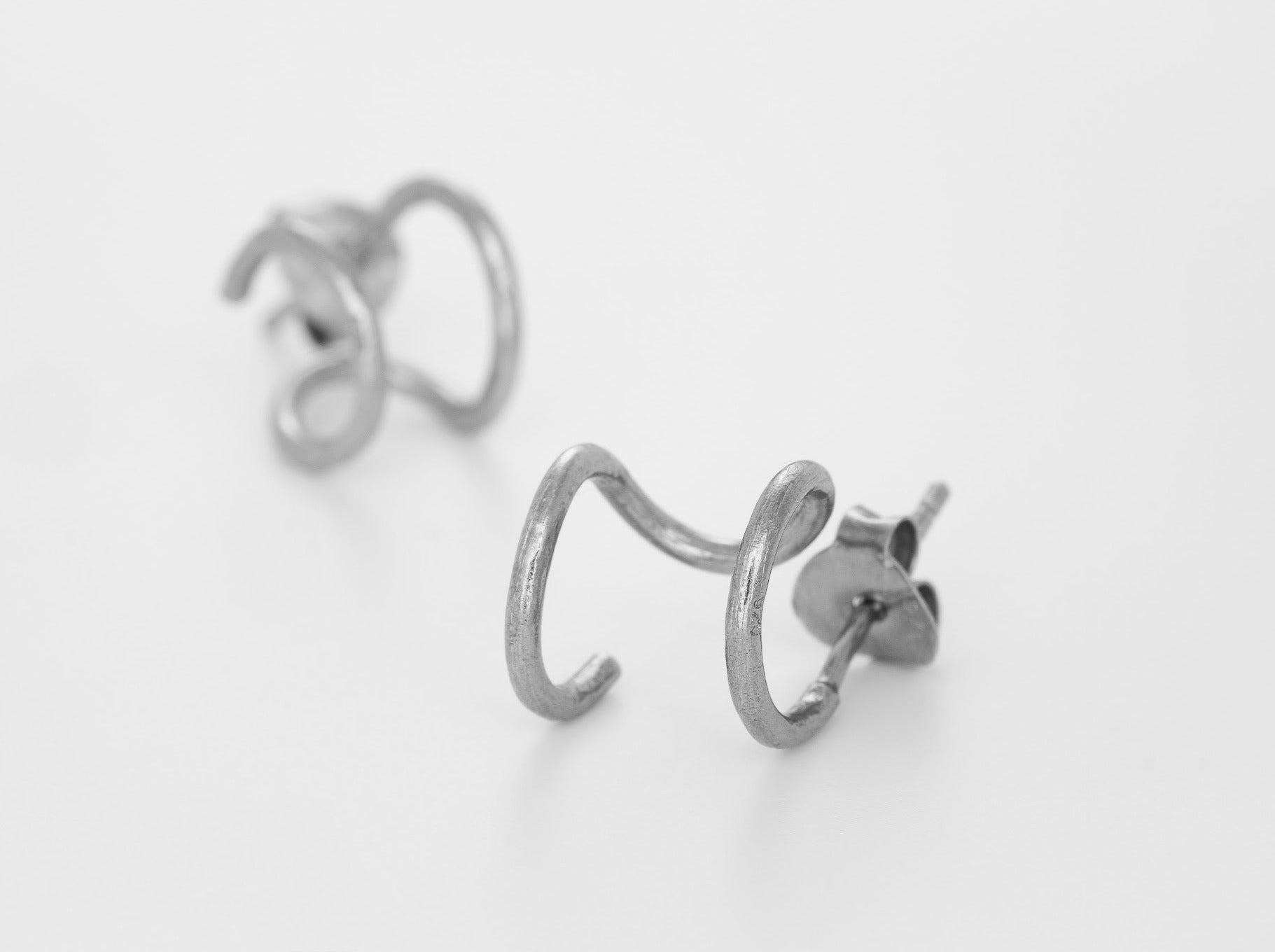 Double Hoop - Bjørg Jewellery