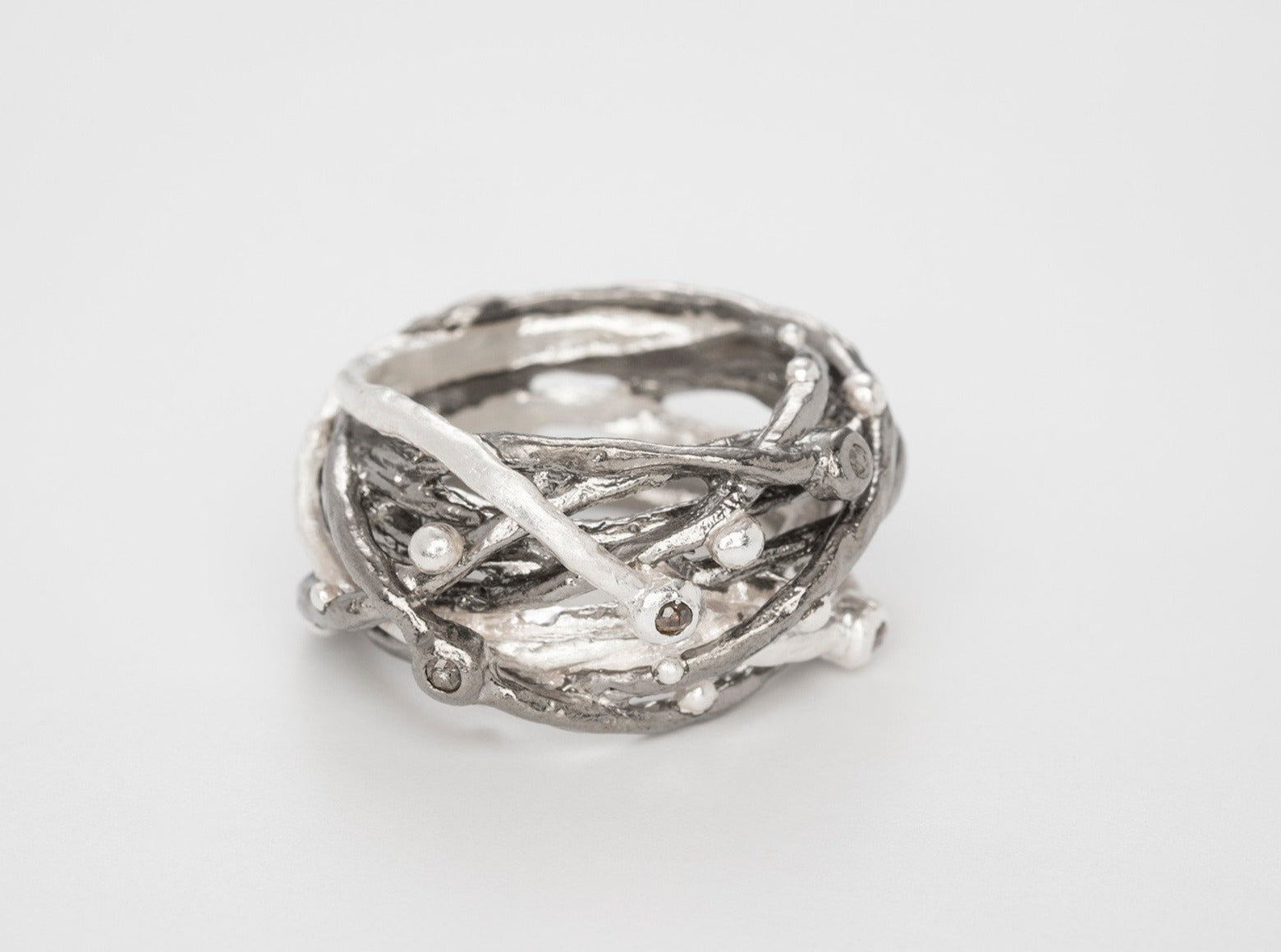 Big Nest Silver - Bjørg Jewellery