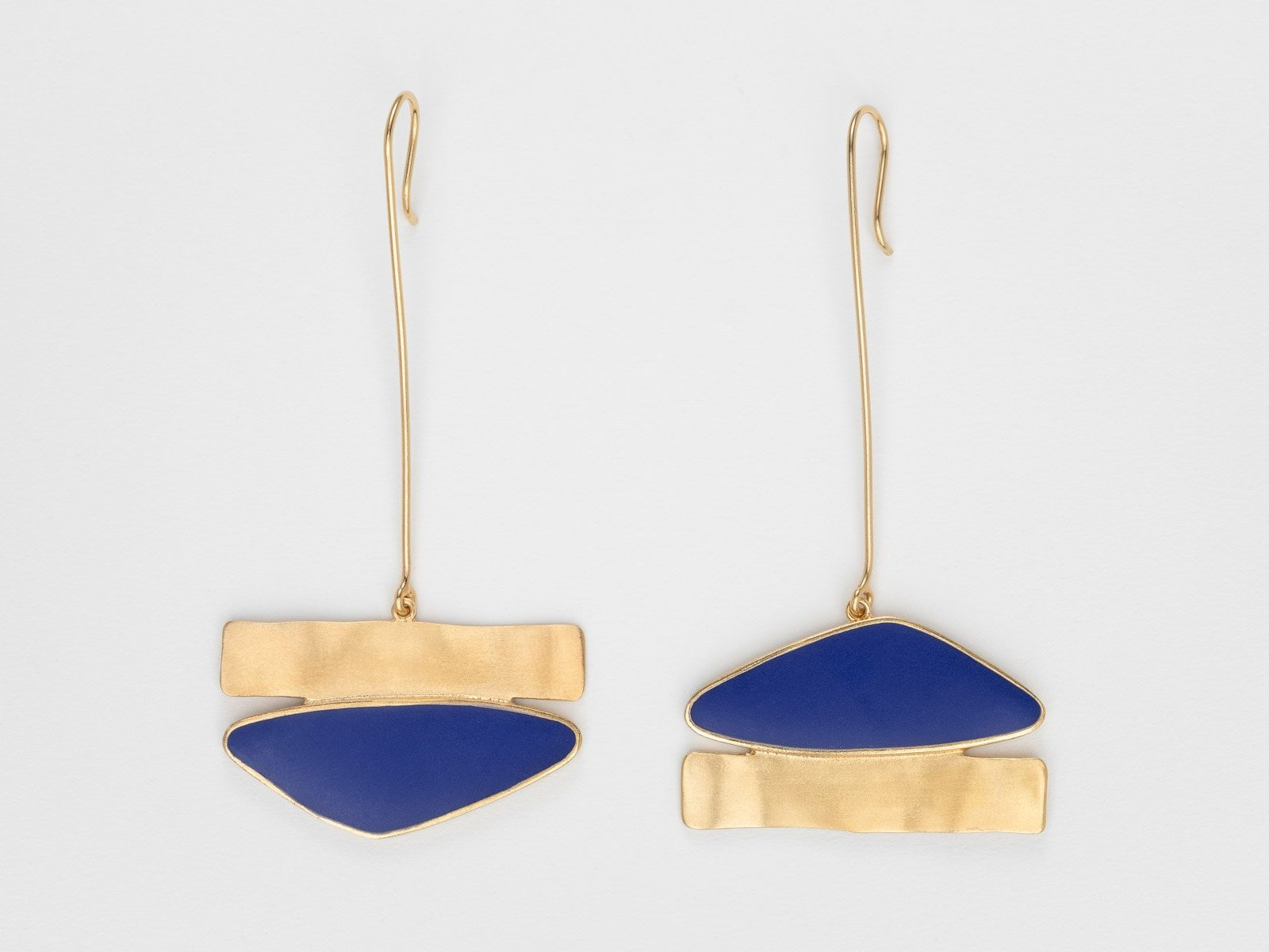 A Deep Azure Earpieces - Bjørg Jewellery