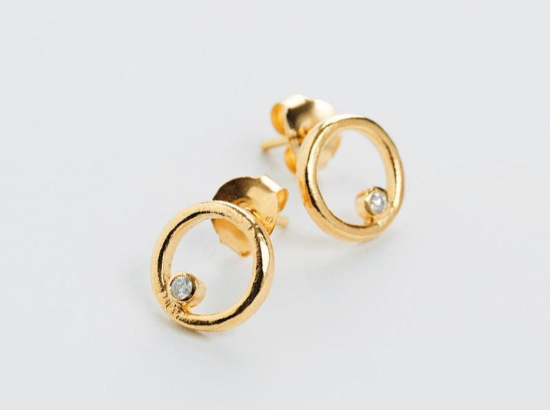 Inside the Secret Circles Brilliant Earrings