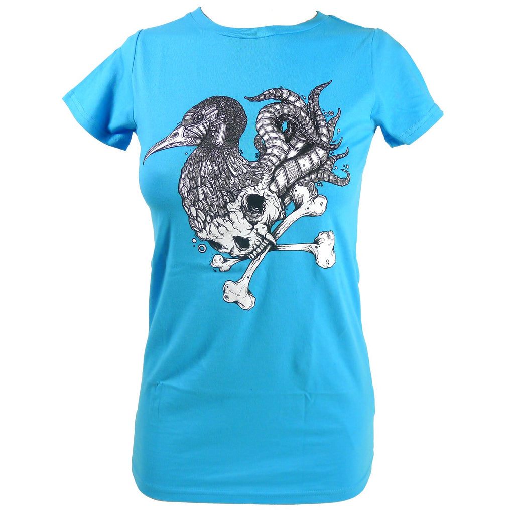 Women's SALE Avian Squid Organic Fitted T-Shirt