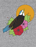 Unisex FLIGHT WITH FLOWERS Organic T-Shirt