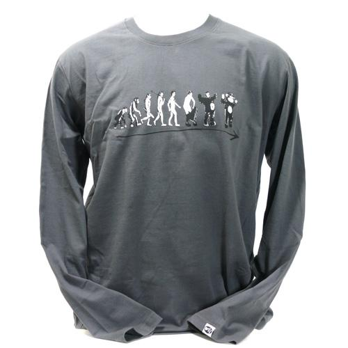 Unisex SALE Monkevolution Organic LONG Sleeve T-Shirt