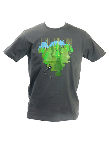 SPUK Men's THE FOREST SMELLS Organic T-Shirt