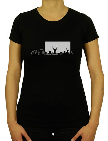 Women's SURREALIST CINEMA Organic T-Shirt