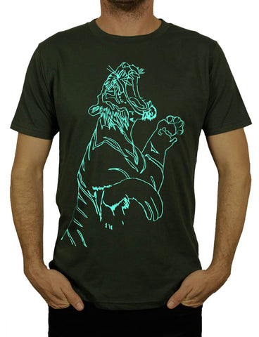 Unisex TIGER FEET Organic T-Shirt