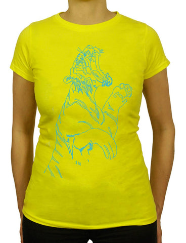 Women's TIGER FEET Organic T-Shirt
