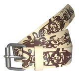 Totem SPUK Unisex Men's or Women's Belt by ethical clothing brand SPUK T-shirts aka Spunky Tees since 1998