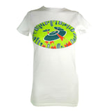 Women's SALE Flying Saucers Organic Fitted T-Shirt
