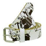 SPUK Unisex HEATHENS White Belt