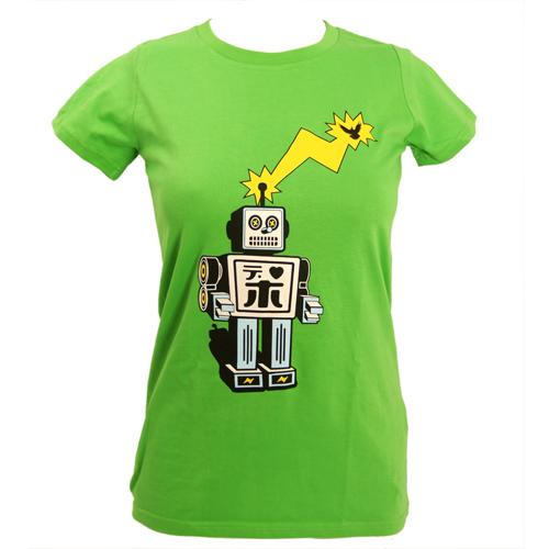 Women's SALE Droobot Organic Fitted T-Shirt