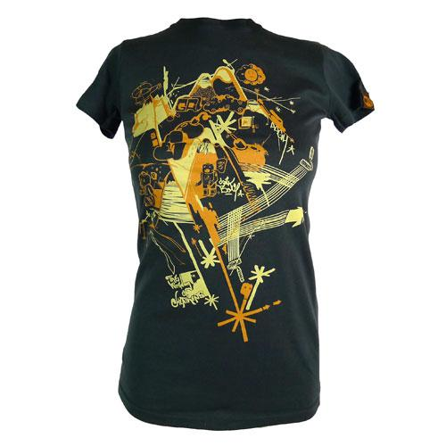 Women's SALE Heathens Organic Fitted T-Shirt