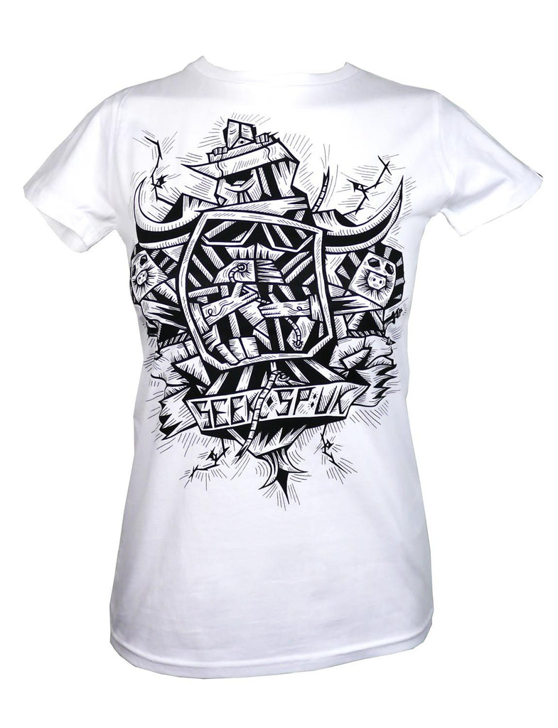 Women's SALE Heraldry Organic Fitted T-Shirt