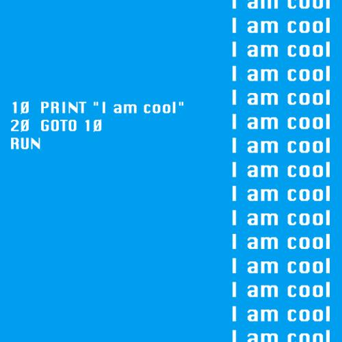 Women's SALE I am Cool Organic Fitted T-Shirt