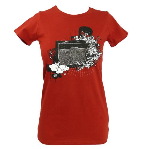 Women's SALE Killer Amp Organic Fitted T-Shirt