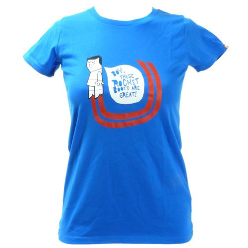 Women's SALE Rocket Boots Organic Fitted T-Shirt