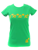 Women's SALE Yes No Organic Fitted T-Shirt