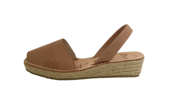 Sun Tan Mini Wedge
