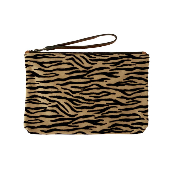 Valentina Clutch - Zebra Crossing