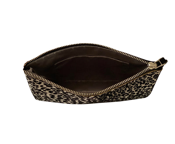 Valentina Clutch - Midnight Leopard