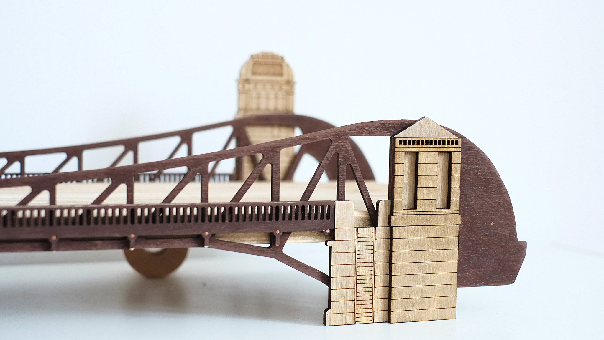 Полка-мост Clarkstreet Bridge / Clarkstreet Bridge Shelf - WOODANDROOT - 4