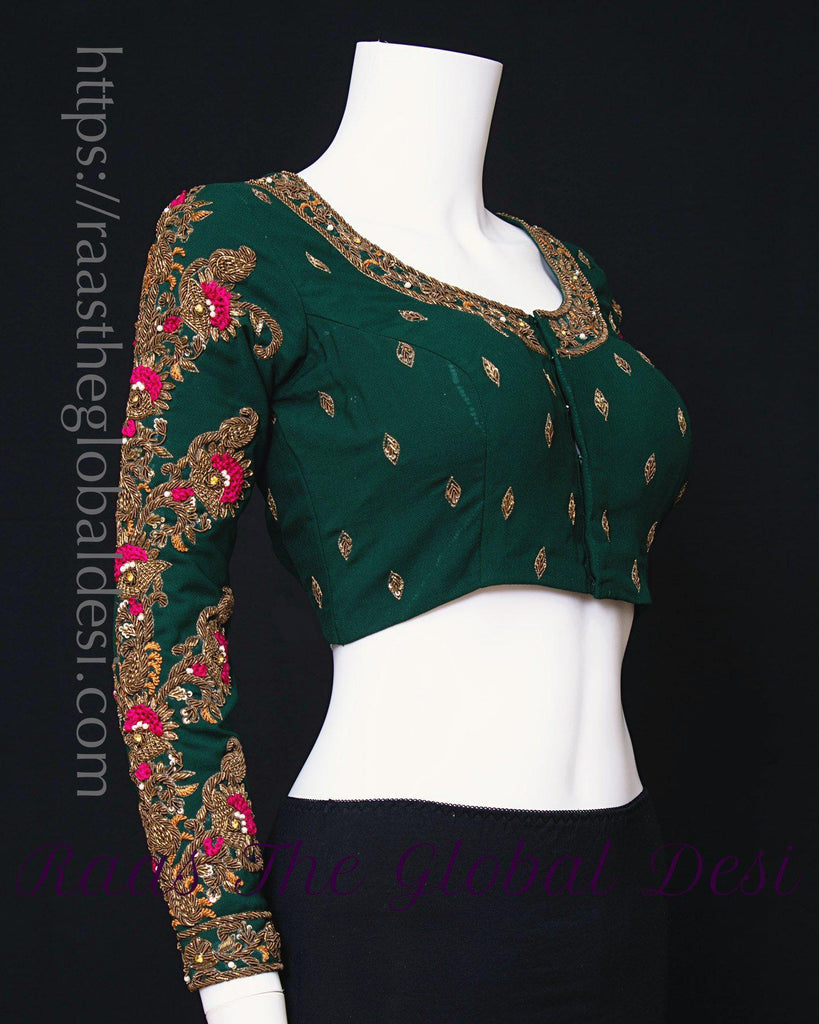 BL1591-BLOUSE-Raas The Global Desi-[readymade_saree_blouse_online_usa]-[readymade_saree_blouse]-[saree_blouse_online]-Raas The Global Desi