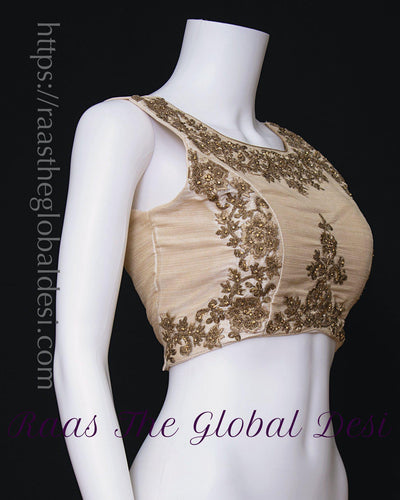 BL1593-BLOUSE-Raas The Global Desi-[readymade_saree_blouse_online_usa]-[readymade_saree_blouse]-[saree_blouse_online]-Raas The Global Desi