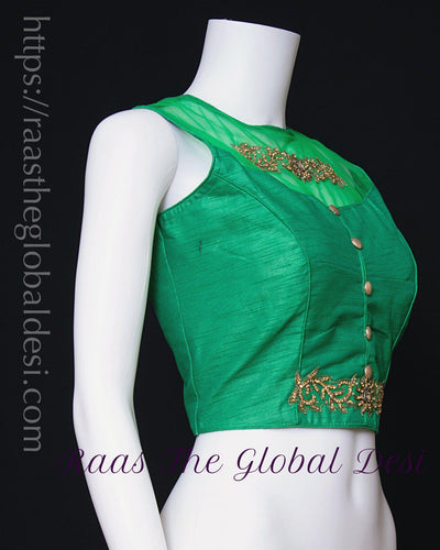 BL1598-BLOUSE-Raas The Global Desi-[readymade_saree_blouse_online_usa]-[readymade_saree_blouse]-[saree_blouse_online]-Raas The Global Desi