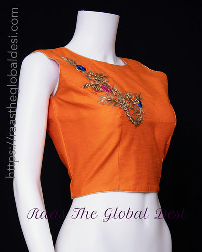 BL1608-BLOUSE-Raas The Global Desi-[readymade_saree_blouse_online_usa]-[readymade_saree_blouse]-[saree_blouse_online]-Raas The Global Desi