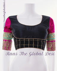 BL1546-BLOUSE-Raas The Global Desi-[readymade_saree_blouse]-[Readymade_saree_blouse_online]-[blouse]-Raas The Global Desi