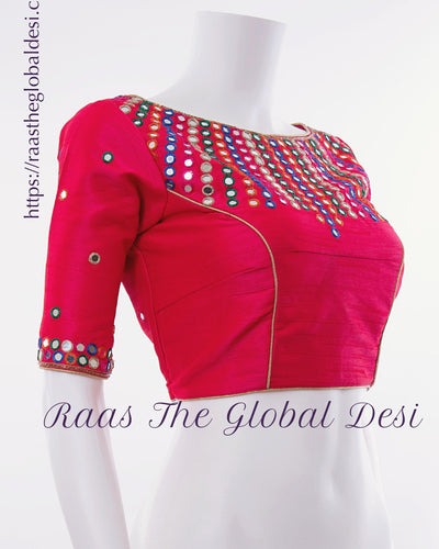 BL1553-BLOUSE-Raas The Global Desi-[readymade_saree_blouse]-[Readymade_saree_blouse_online]-[blouse]-Raas The Global Desi