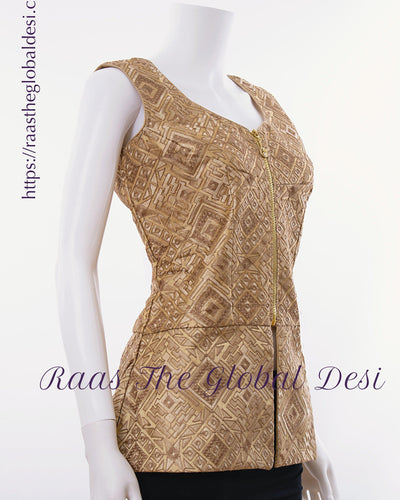 BL1562-BLOUSE-Raas The Global Desi-[readymade_saree_blouse]-[Readymade_saree_blouse_online]-[blouse]-Raas The Global Desi