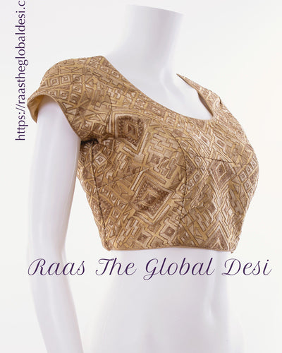 BL1567-BLOUSE-Raas The Global Desi-[readymade_saree_blouse_online_usa]-[readymade_saree_blouse]-[saree_blouse_online]-Raas The Global Desi