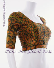 BL1569-BLOUSE-Raas The Global Desi-[readymade_saree_blouse]-[Readymade_saree_blouse_online]-[blouse]-Raas The Global Desi