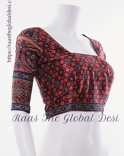 BL1570-BLOUSE-Raas The Global Desi-[readymade_saree_blouse]-[Readymade_saree_blouse_online]-[blouse]-Raas The Global Desi
