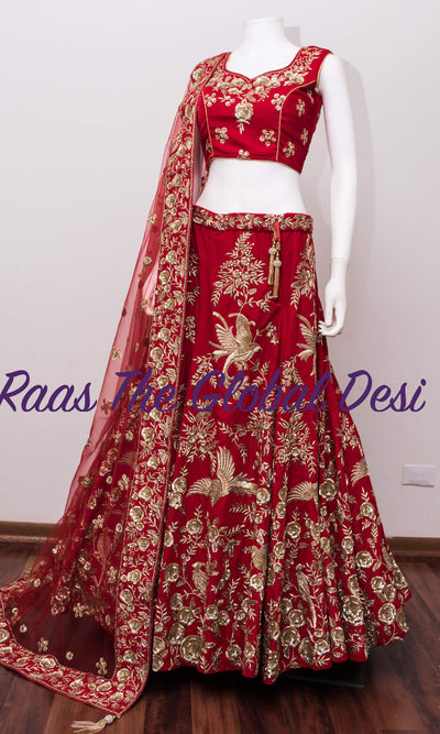 CC1647-Chaniya choli-Raas The Global Desi-[lehenga_choli]-[lehenga]-[bridal_lehenga]-Raas The Global Desi