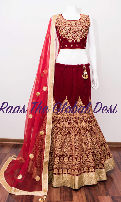 CC1650-Chaniya choli-Raas The Global Desi-[lehenga_choli]-[lehenga]-[bridal_lehenga]-Raas The Global Desi