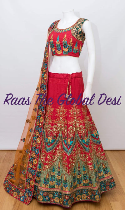 CC1758-Chaniya choli-Raas The Global Desi-[lehenga_choli]-[lehenga]-[bridal_lehenga]-Raas The Global Desi