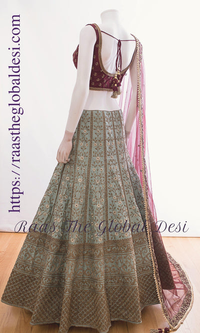 CC2420 KAYA-CHANIYA CHOLI-Raas The Global Desi-[lehenga_choli]-[lehenga]-[bridal_lehenga]-Raas The Global Desi