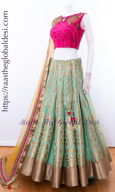 CC2526-CHANIYA CHOLI-Raas The Global Desi-[lehenga_choli]-[lehenga]-[bridal_lehenga]-Raas The Global Desi