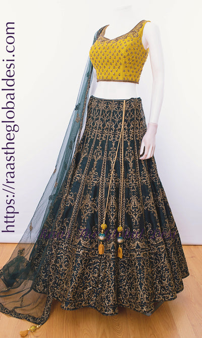 CC2617-CHANIYA CHOLI-Raas The Global Desi-[lehenga_choli]-[lehenga]-[bridal_lehenga]-Raas The Global Desi