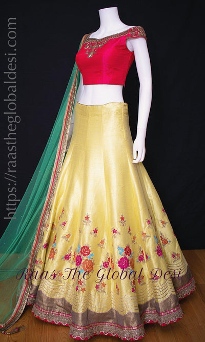 CC3050-Chaniya choli-Raas The Global Desi-[lehenga_choli]-[lehenga]-[bridal_lehenga]-Raas The Global Desi