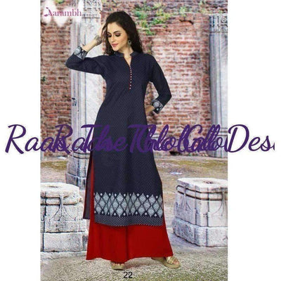 KK1134-Kurtis-Raas The Global Desi-[KURTIS]-[INDIAN]-[INDIAN-OUTFIT]-Raas The Global Desi