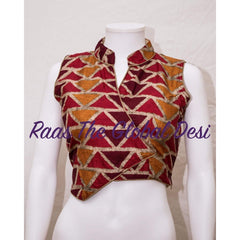 BL1143-BLOUSE-Raas The Global Desi-[readymade_saree_blouse_online_usa]-[readymade_saree_blouse]-[saree_blouse_online]-Raas The Global Desi