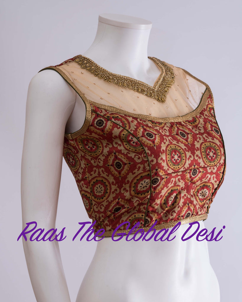 BL1219-BLOUSE-Raas The Global Desi-[readymade_saree_blouse_online_usa]-[readymade_saree_blouse]-[saree_blouse_online]-Raas The Global Desi