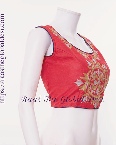BL1511-BLOUSE-Raas The Global Desi-[readymade_saree_blouse_online_usa]-[readymade_saree_blouse]-[saree_blouse_online]-Raas The Global Desi