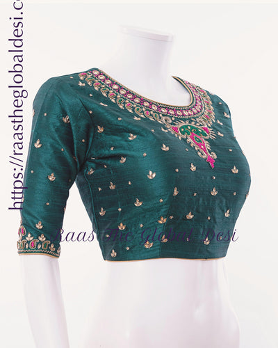 BL1518-BLOUSE-Raas The Global Desi-[readymade_saree_blouse_online_usa]-[readymade_saree_blouse]-[saree_blouse_online]-Raas The Global Desi