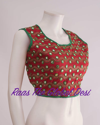 BL1241-BLOUSE-Raas The Global Desi-[readymade_saree_blouse_online_usa]-[readymade_saree_blouse]-[saree_blouse_online]-Raas The Global Desi