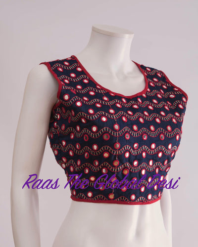 BL1242-BLOUSE-Raas The Global Desi-[readymade_saree_blouse_online_usa]-[readymade_saree_blouse]-[saree_blouse_online]-Raas The Global Desi